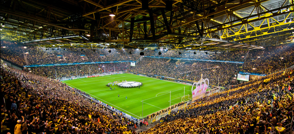 Westfalenstadion stadium guide by Tablebox