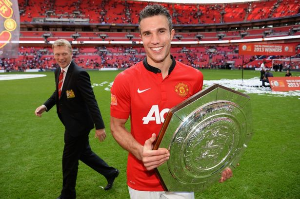 Van Persie fue el Man of the Match de la Community Shield.