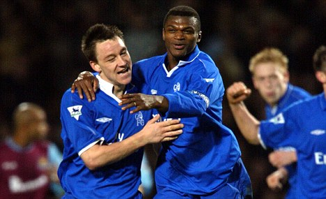 Desailly Chelsea con John Terry