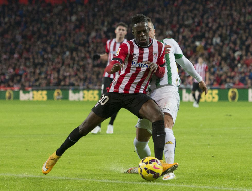 Iñaki Williams ha irrumpido con fuerza en el Athletic.