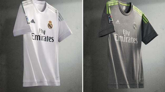 Las camisetas del Real Madrid para la temporada 2015/16.