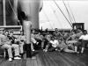 Francia llegó a Uruguay en el carguero Conde Verde. En él, también viajaban Yugoslavia y Bélgica. En Río de Janeiro, el barco hizo un alto para acoger a los jugadores brasileños. Tres semanas de viaje.
