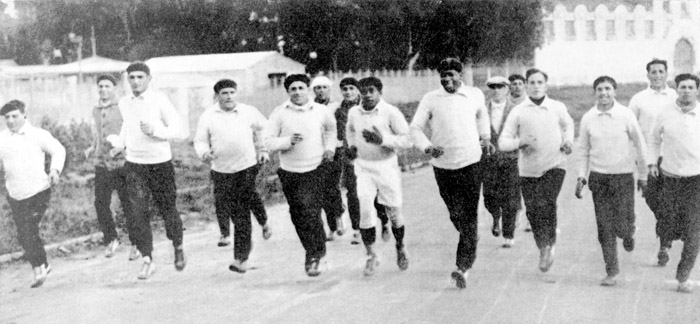La selección uruguaya ganó el Mundial con métodos de entrenamientos clásicos. Correr por la calle, algo completamente inhabitual en los tiempos actuales.