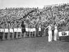 Italia organizó el Mundial de 1934 como forma de propagandar el régimen de Benito Mussolini. Participaron 16 selecciones (Brasil y Argentina las únicas sudamericanas) y fue el primer Mundial en haber fase previa, que incluso, disputó el anfitrión.