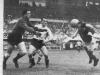 Hungría ganó 4-2 a Uruguay en las semifinales gracias a dos tantos de Kocsis en la prórroga. Fue la primera derrota de los uruguayos en un Mundial, y posiblemente uno de los mejores encuentros de todos los tiempos.
