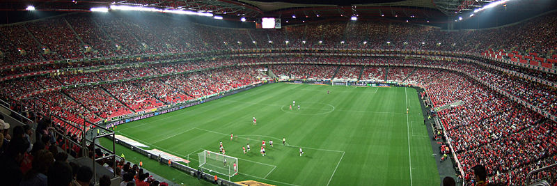 The Estadio da Luz will host the final of the Champions League 2014.