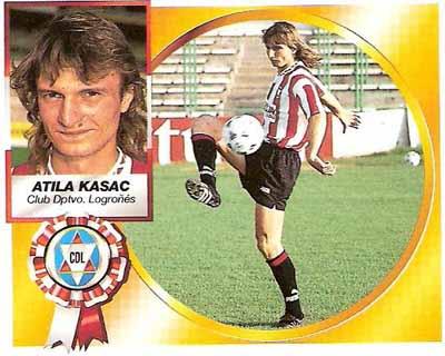 Atila Kasac, el futbolista que fue más conocido por un cromo