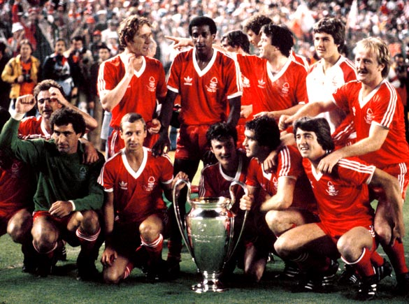 The European champions Nottingham Forest was proclaimed two years running.