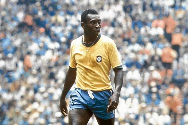 Pele put the great climax to his career with the World 1970.