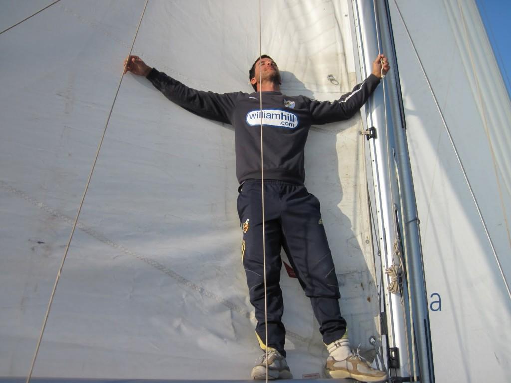Contreras inició en 2010 una aventura apasionante. Foto: bitacorapetersboat.blogspot.com