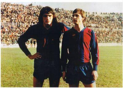 Johan Cruyff apuró su carrera en el Levante UD.