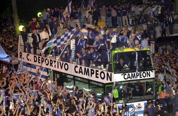 Depor was league champion in the 2000 hand Jabo Irureta.