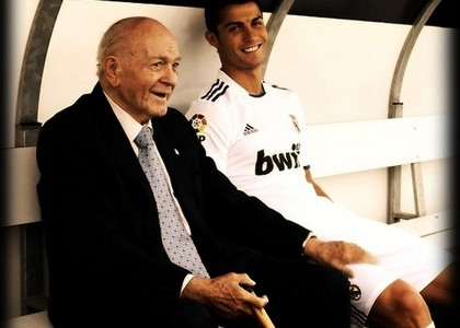Di Stefano and Christian, Whites two legends.