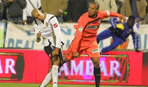 Diogo y Luis Fabiano acabaron a golpes en una pelea lamentable.