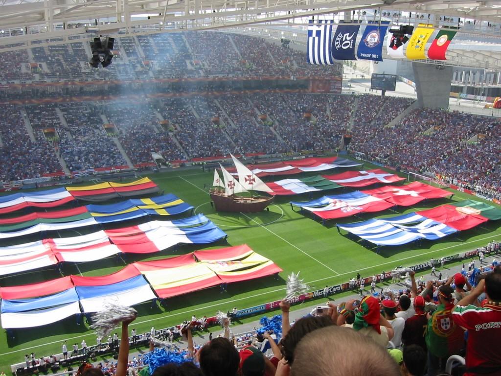 Grecia quedó encuadrada con España, Portugal y Rusia. Pasó como segunda de grupo.