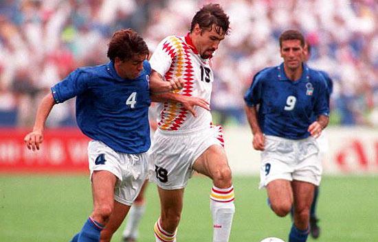 Aquel España-Italia de USA 1994