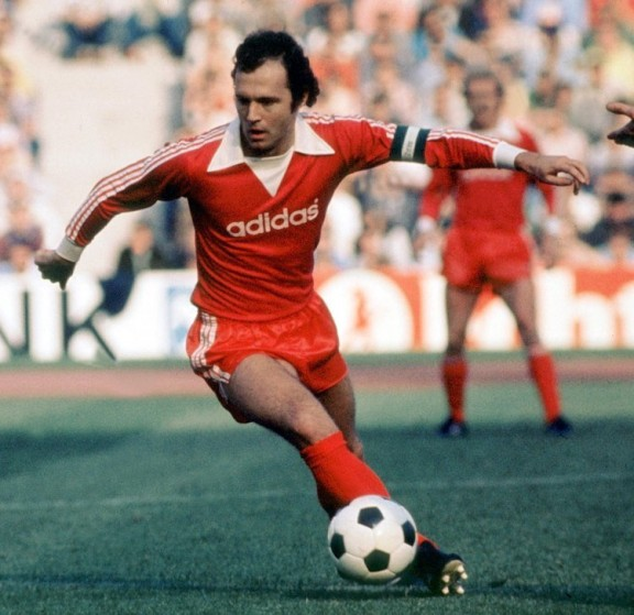 Franz Beckenbuer was a myth Bayern Munich and still remains.