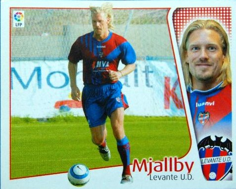 Large pufos of the Spanish League: Johan Mjallby