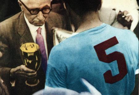 Sport. Football. 1950, World Cup Finals.                        (Rio de Janeiro). Brazil. Uruguay 2 v Brazil 1.