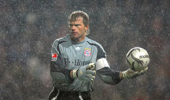 Oliver Kahn, one of the best goalkeepers in football history.