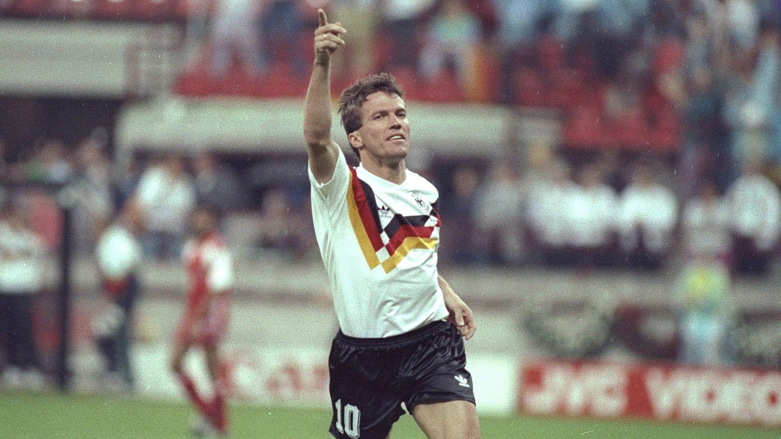 Lothar Matthäus, tiene el récord de Mundiales jugados