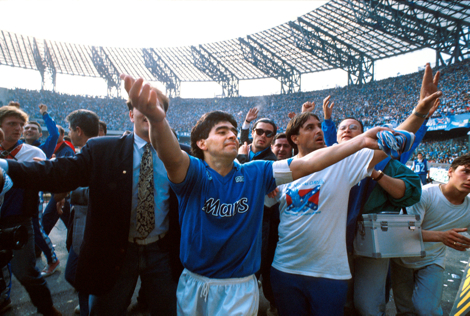 Maradona is one of the largest in history.