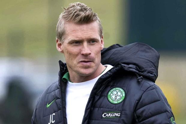 Johan Mjallby exerting Celtic coach.
