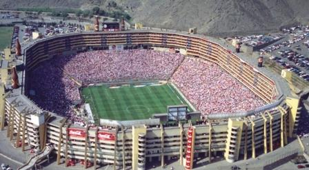 The Monumental stadium is the other big stadium Lima.