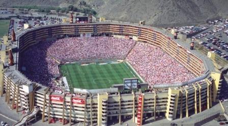 El estadio Monumental es el otro gran estadio de Lima.