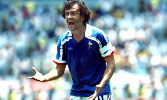 Platini was the leader of France for years.