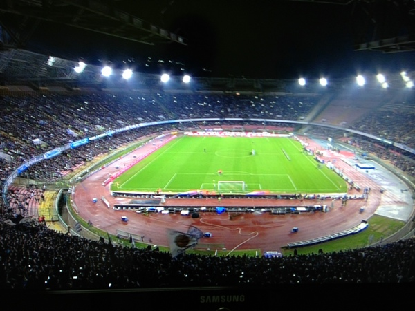 San Paolo is the stadium where Maradona played in Italy.