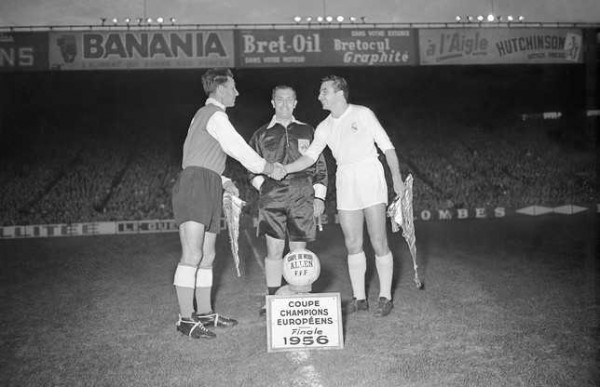 Stade Reims and Real Madrid faced off in the final of the European Cup 1956.