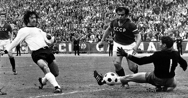 Torpedo Müller marked 13 goals in two World.