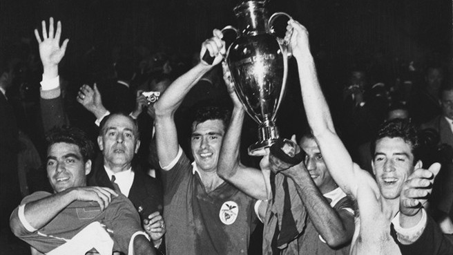 Benfica won its first European title against Barcelona.