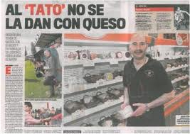 Tato Abbey is coach and has a cheese shop.