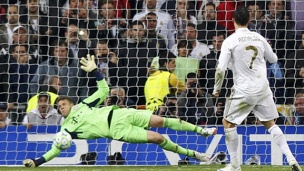 Cristiano missed a decisive penalty against Bayern.
