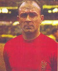 Di Stéfano vistió la camiseta de España.