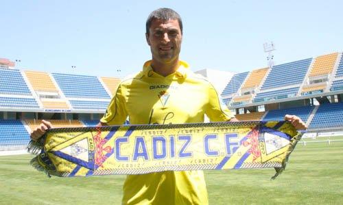 Diego Tristán acabó en el Cádiz.