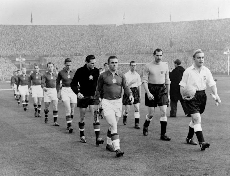 England lost 3-6 against Hungary at Wembley in 1953.