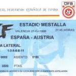 España 9- Austria 0, Raúl marcó cuatro goles en una noche de ensueño