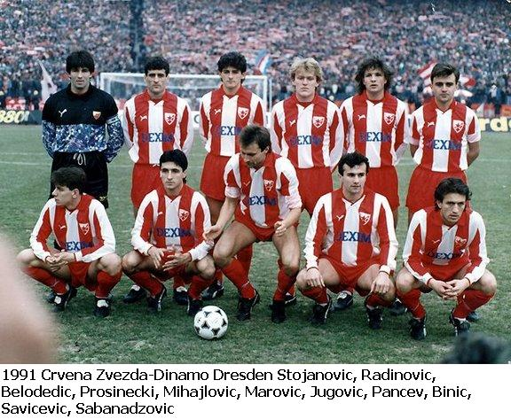 Red Star had a star studded eleven.
