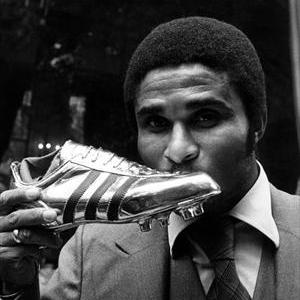 Eusebio won the Golden Boot.