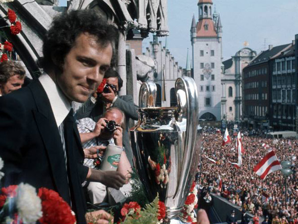 Beckenbauer won 3 European Cups.