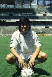 Zamorano signed for Real Madrid in 1992