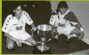 Zamorano and Amavisca were the best of Real Madrid in the League 1995