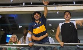 Diego Armando Maradona, It is recognized Boca fan