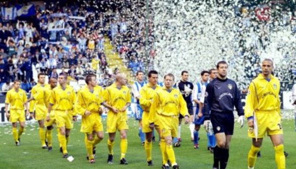 Leeds made a dream Champions in 2001.