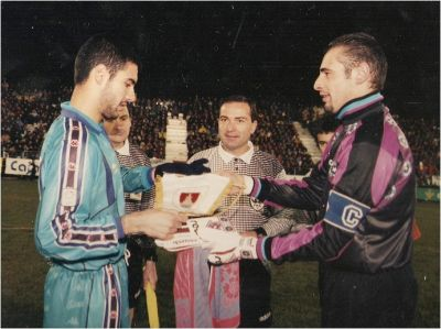 Numancia entered 1996 in the history of the Cup of the King