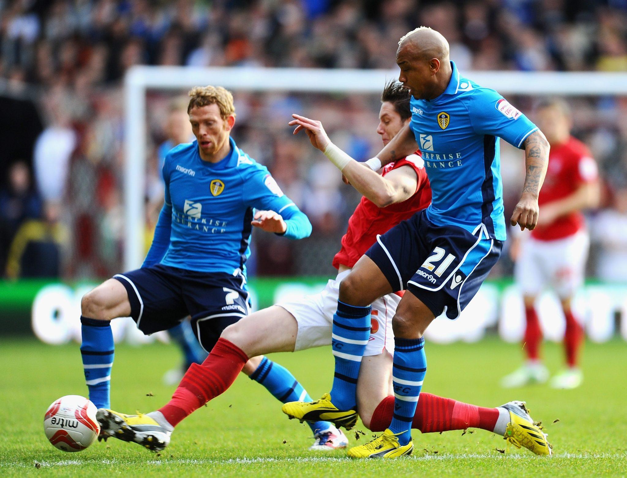 Una imagen del Leeds de la temporada pasada.