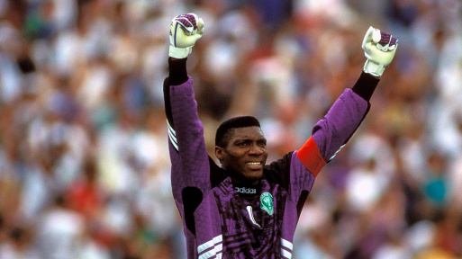 Peter Rufai, the player who was prince
